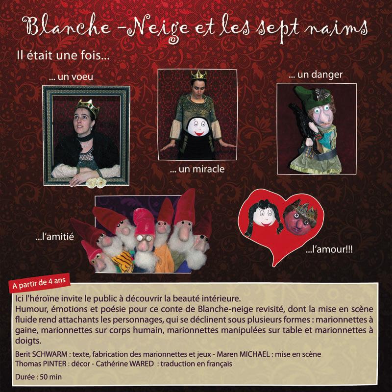 Spectalce Marionnettes à partir de 4 ans Berit Schwarm