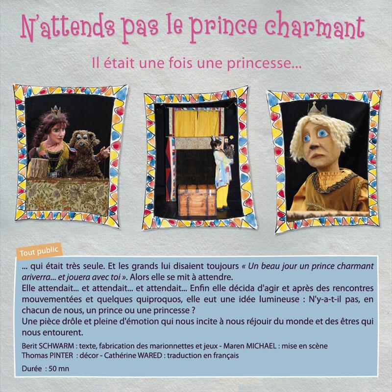 Spectalce marionnettes, Théatre BA, Berit Schwarm, marionnettiste