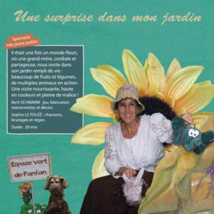 Spectacle de marionnettes, très jeune public, Théâtre BA