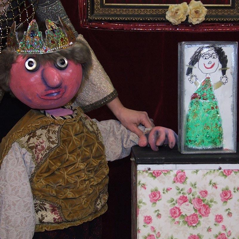 Blanche neige, théâtre marionnettes, Bretagne