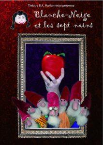 Blanche Netige et les Sept Nains, spectacle marionnettes, à partir de 4 ans, Théâtre BA