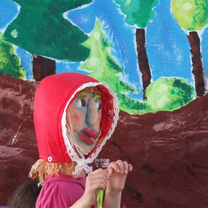 Atelier d'animation de marionnettes, enfants, théâtre