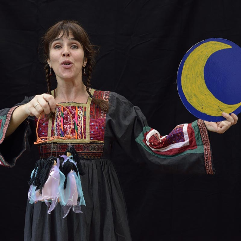 Voyage au pays des contes, spectacle de marionnettes, Bérit Schwarm