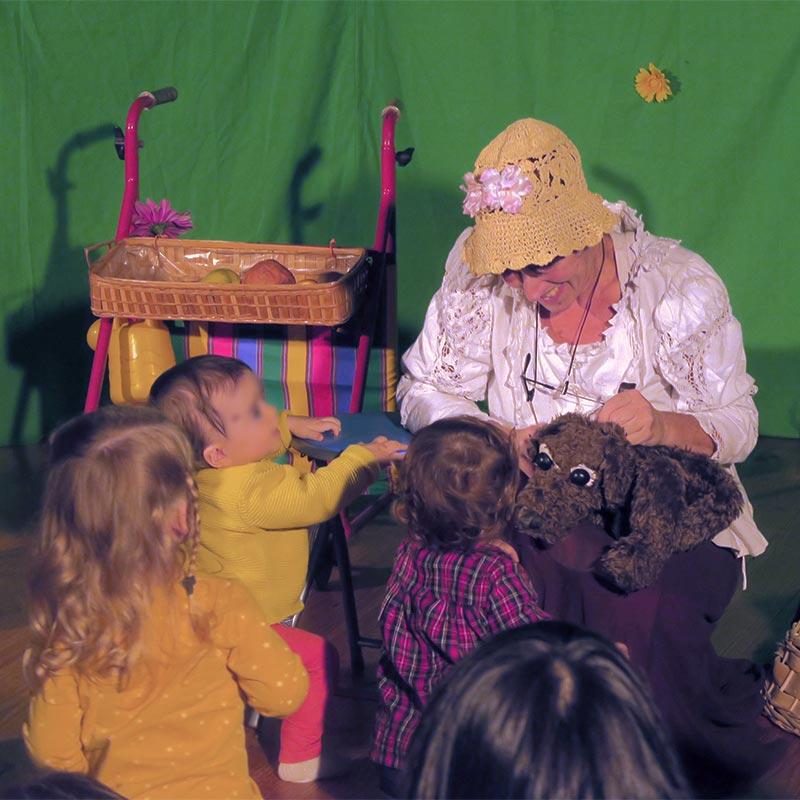 Spectalce marionnettes, très jeune public, Bretagne
